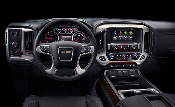 2016 GMC Denali 3500HD interior