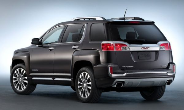 2016 GMC Terrain rear