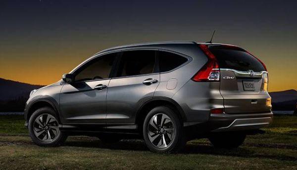 2016 Honda CR-V rear
