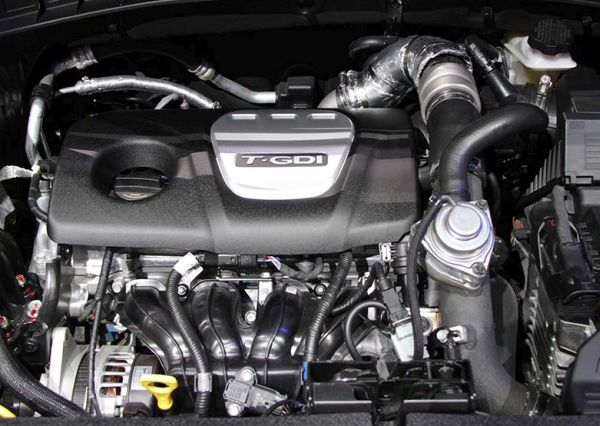 2016 Hyundai Tucson engine