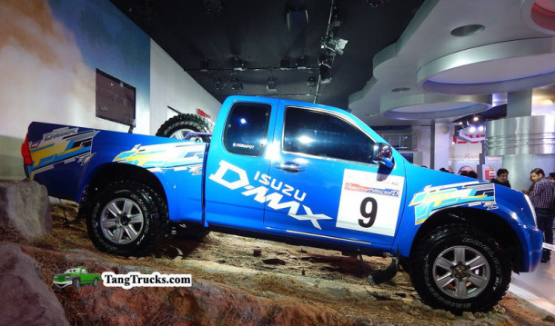 2016 Isuzu D Max side