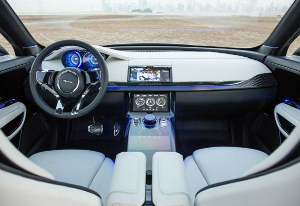 2016 Jaguar Cx17 Interior Front