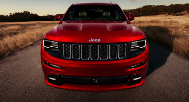 2016 Jeep Grand Cherokee Trackhawk Front