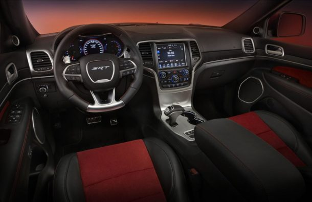 2016 Jeep Grand Cherokee Trackhawk Interior