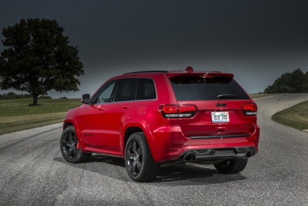 2016 Jeep Grand Cherokee Trackhawk Rear view