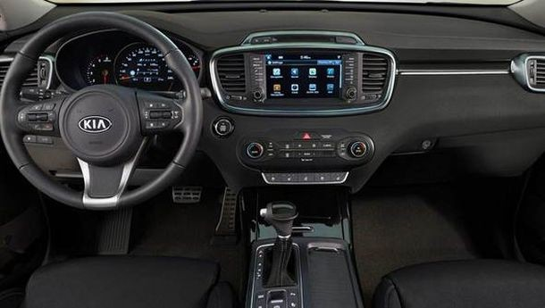 2016 Kia Sorento X-Men interior