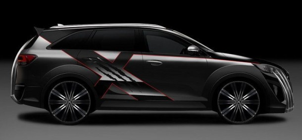 2016 Kia Sorento X-Men side view
