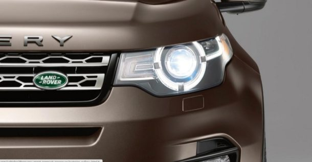 2016 Land Rover Discovery Sport headlights