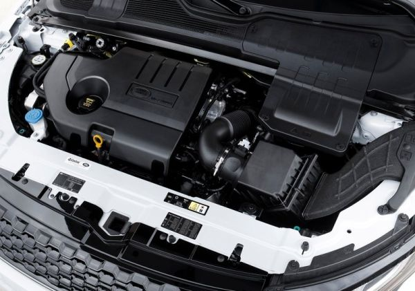 2016 Land Rover Range Rover Evoque engine