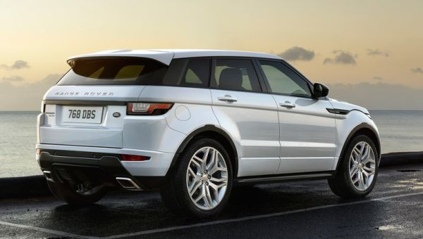 2016 Land Rover Range Rover Evoque rear