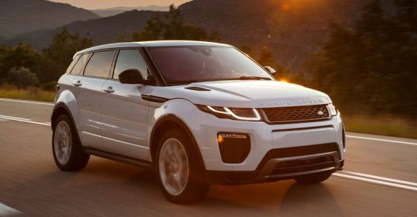 2016 Land Rover Range Rover Evoque side front