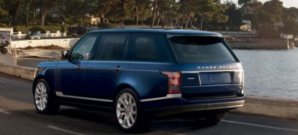 2016 Land Rover Range Rover Supercharged rear view