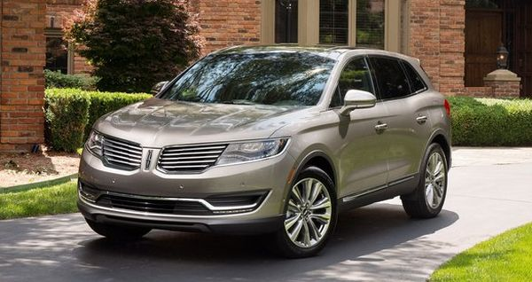 2016 Lincoln MKX front side