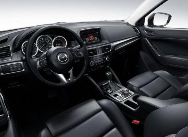 2016 CX-5 Interior - Source: thecarconnection.com