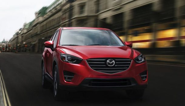 2016 Mazda CX-5 front view