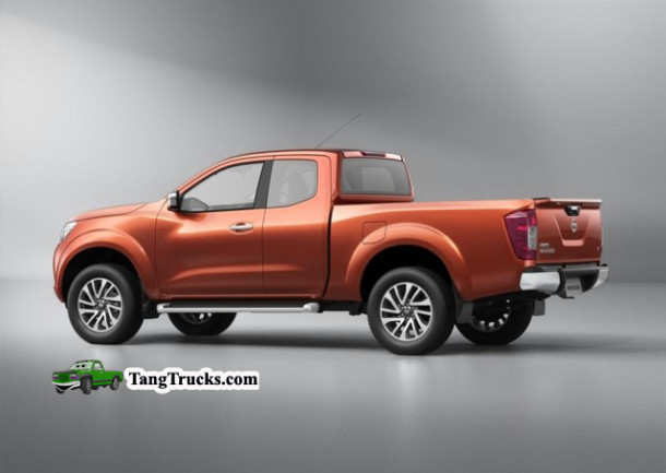 2016 Nissan Frontier side