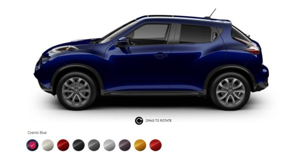 2016 Nissan Juke Colors