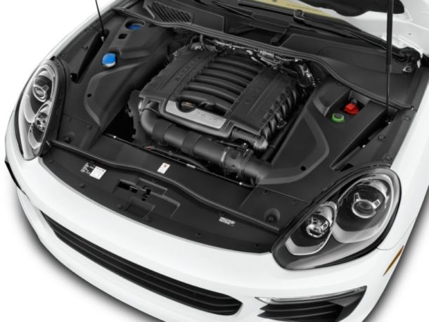 2016 Porsche Cayenne Engine - Source: thecarconnection.com