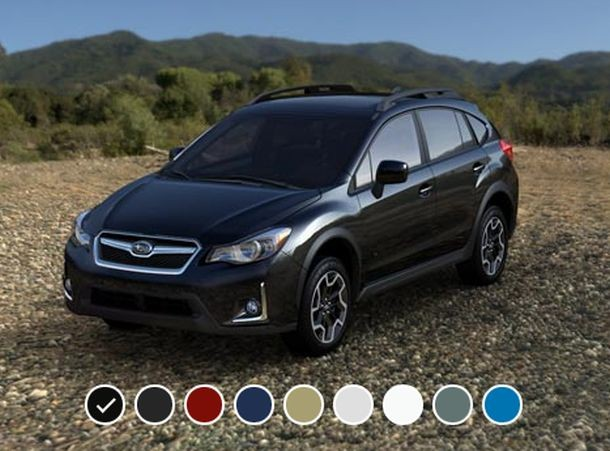 2016 Subaru Crosstrek colors