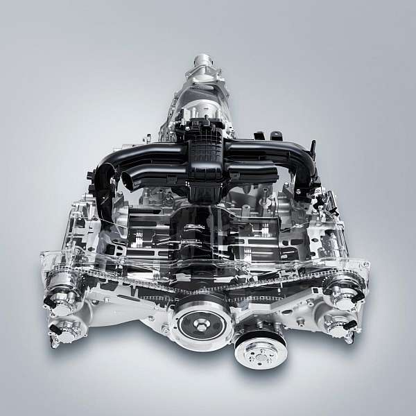 2016 Subaru Crosstrek engine