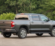 2016 Toyota Tundra Pickup Truck. MPG: City:15, Highway:19. Capacity: 6,400  To 10,500 Lbs. Horsepower: 310   381 HP Payload: 1,430 To 2,060 Lbs