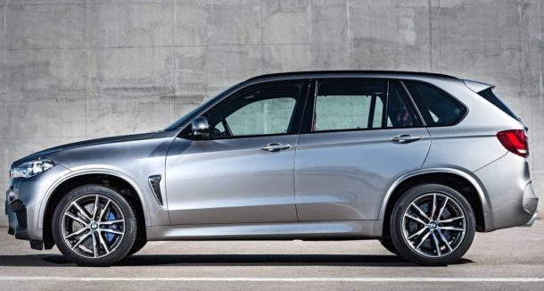 2017 BMW X5 side view