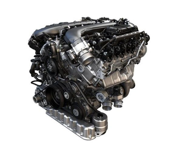 2017 Bentley Bentayga engine