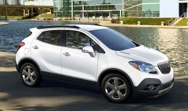 2017 Buick Encore side view