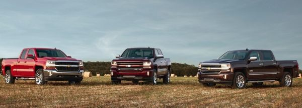 2017 Chevrolet Silverado colors