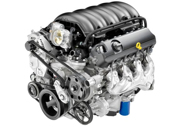 2017 Chevrolet Silverado engine