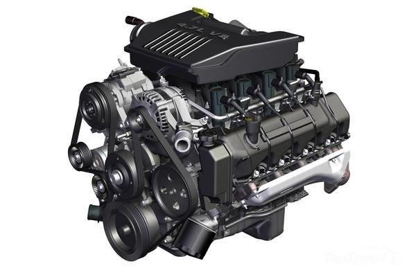 2017 Dodge Dakota engine