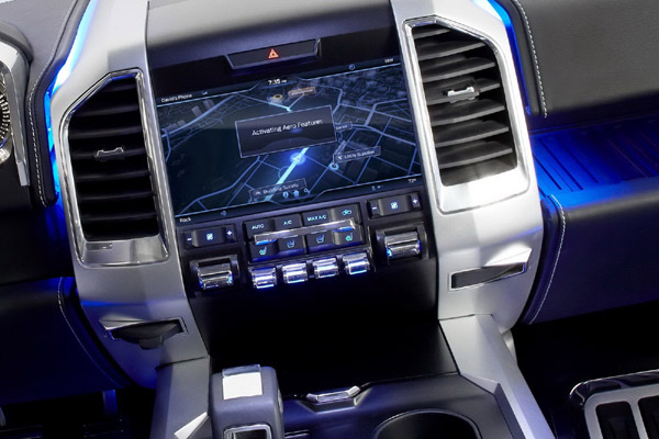 2017 Ford Atlas inside