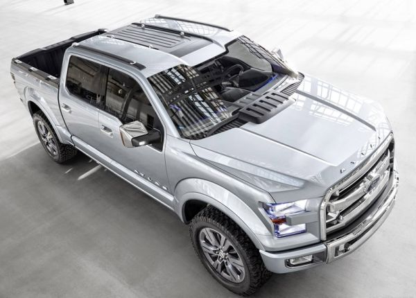 2017 Ford Atlas roof