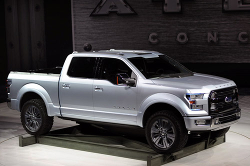 2017 Ford Atlas side