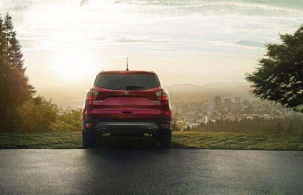 2017 Ford Escape back