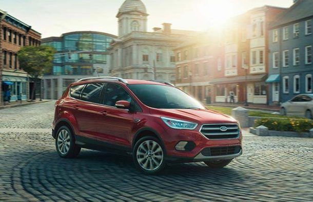 2017 Ford Escape front view