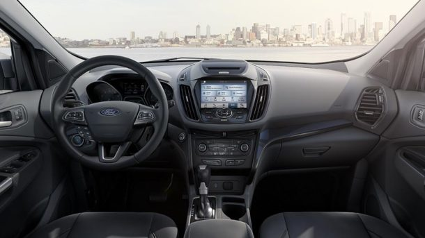 2017 Ford Escape interior front view