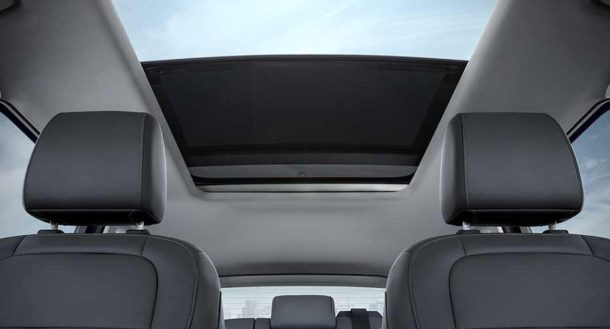 2017 Ford Escape interior roof