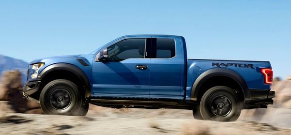 2017 Ford F-150 Raptor side