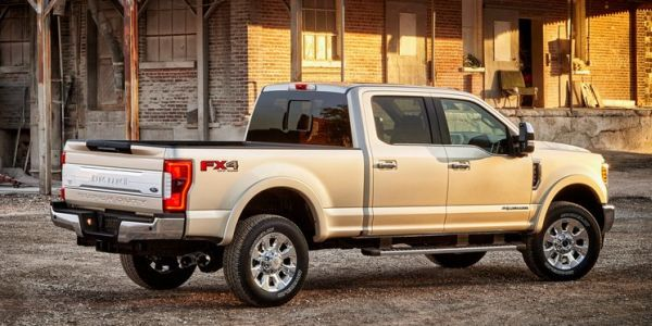 2017 Ford Super Duty rear