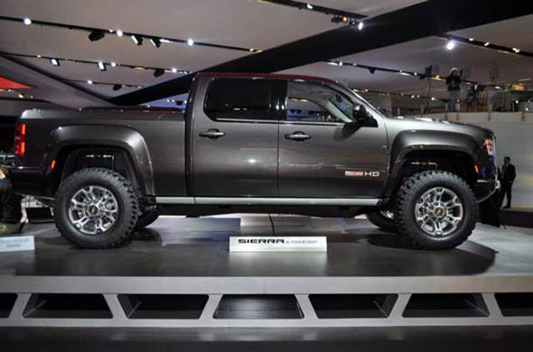 2017 Gmc Canyon Side