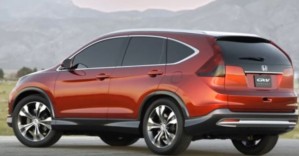 2017 Honda CR-V rear