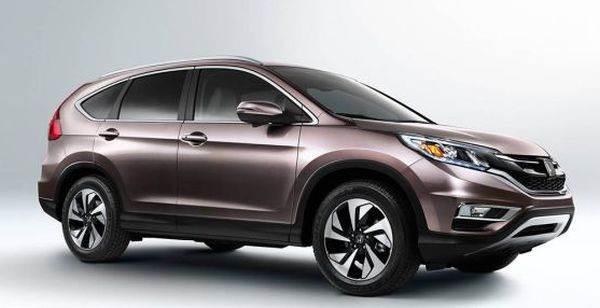 2017 Honda CR-V side