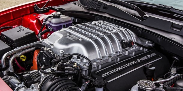 2017 Jeep Grand Cherokee Trackhawk engine