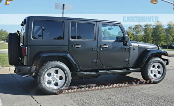 2017 Jeep Wrangler Unlimited Spy Photo