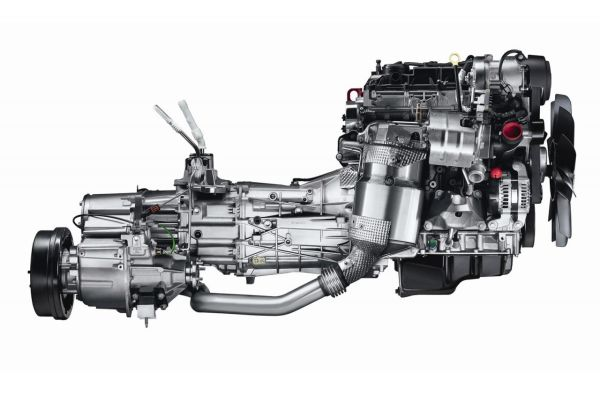 2017 Land Rover Defender engine
