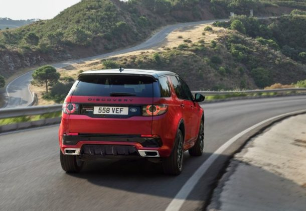 2017 Land Rover Range Rover Discovery Sport Back View