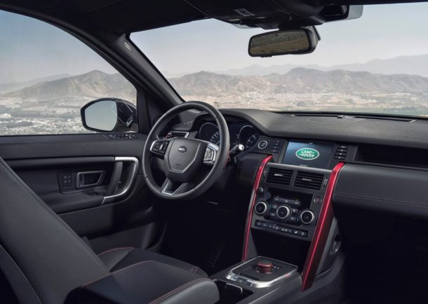 Interior Land Rover Discovery Sport Dynamic