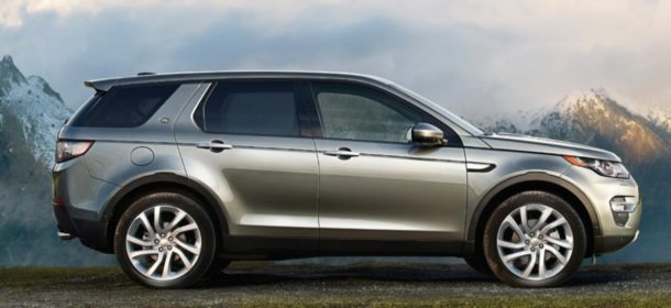 2016 Land Rover Range Rover Discovery Sport Side View