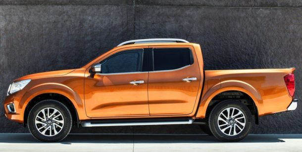 2016 Nissan NP300 Navara model shown